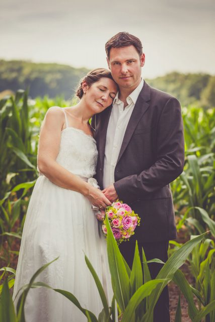 Brautpaarportraits auf Schloss Steinhausen in Witten