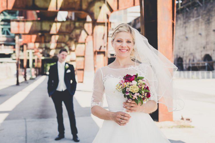 Standesamtliche Hochzeit auf der Henrichshütte in Hattingen