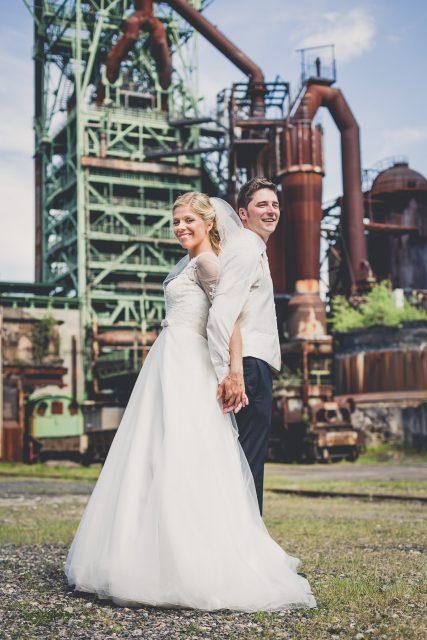 Hochzeitsreportage Henrichshütte in Hattingen