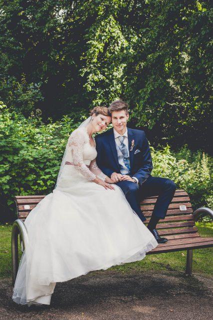 Hochzeitsportraits im Herminghaus Park in Velbert