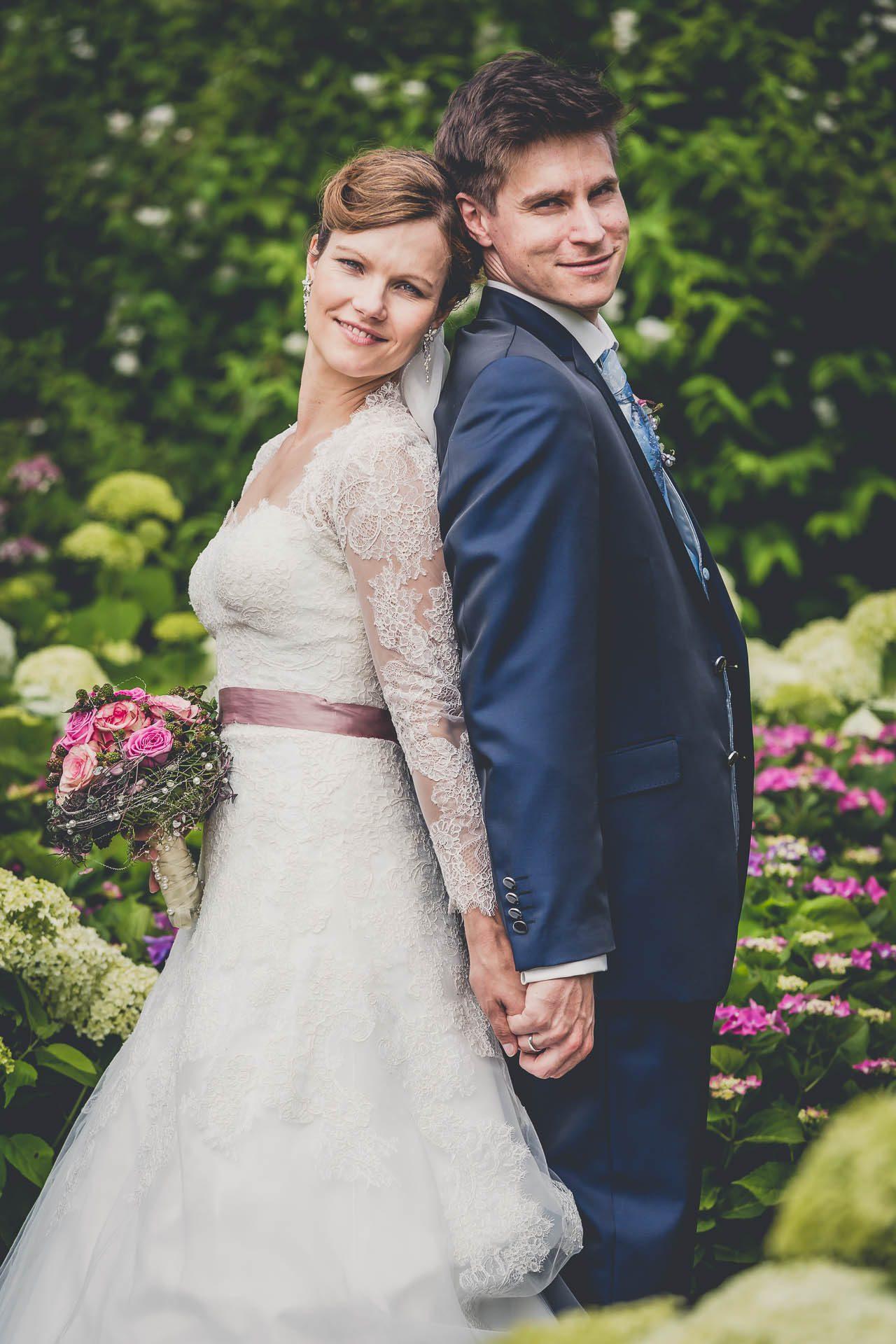 Brautpaarshooting im Herminghaus Park in Velbert