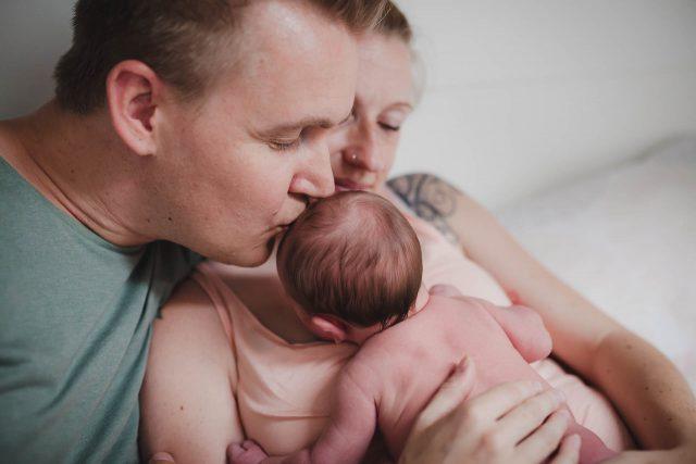 Newbornshooting als Homestory