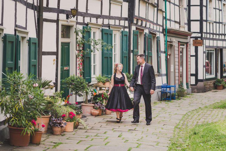 Standesamtliche Hochzeit im Alten Rathaus in Hattingen