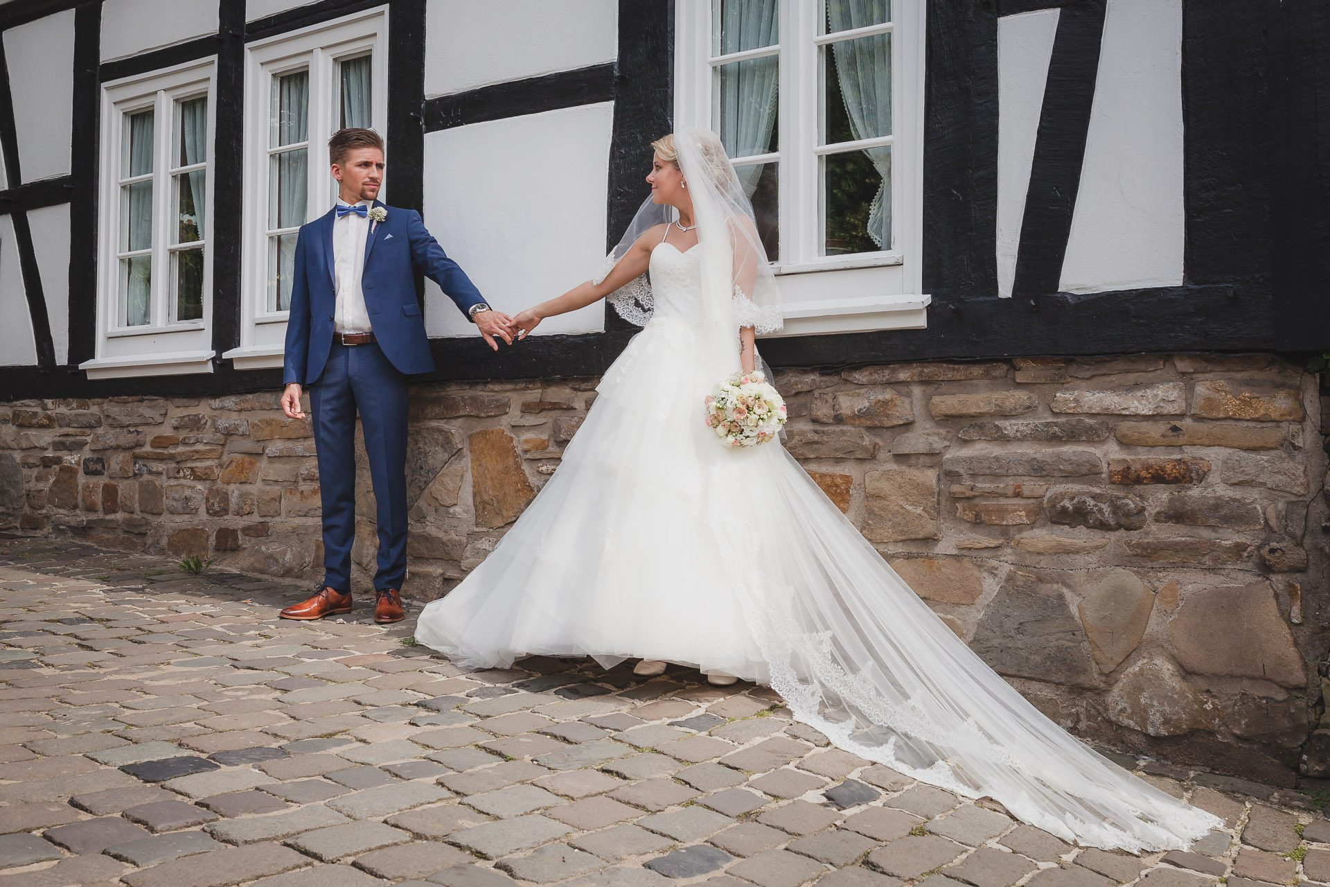 Kirchliche Hochzeit in der St.-Georgs-Kirche in Hattingen