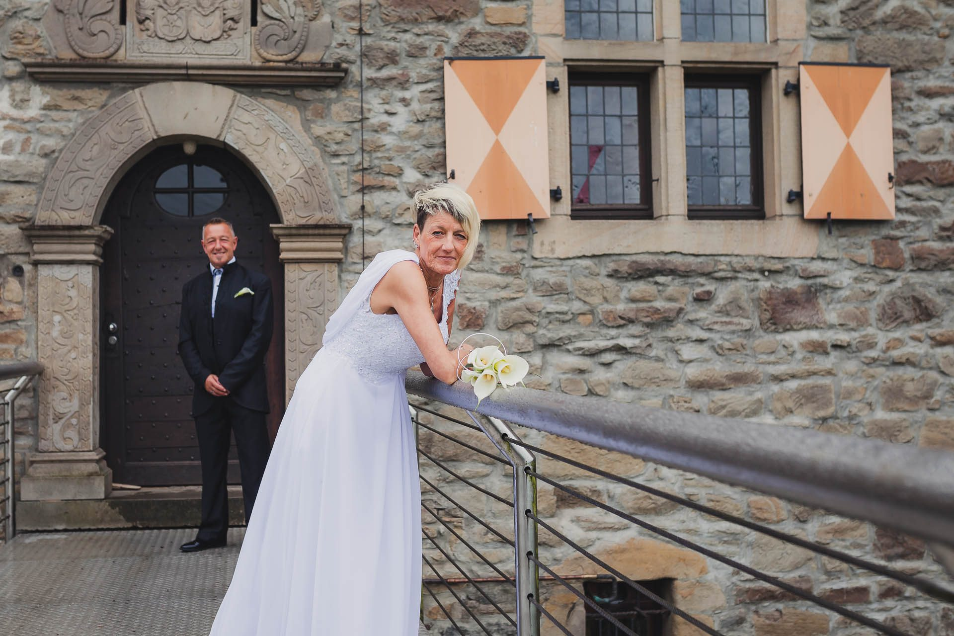 Standesamtliche Trauung auf Wasserburg Haus Kemnade in Hattingen