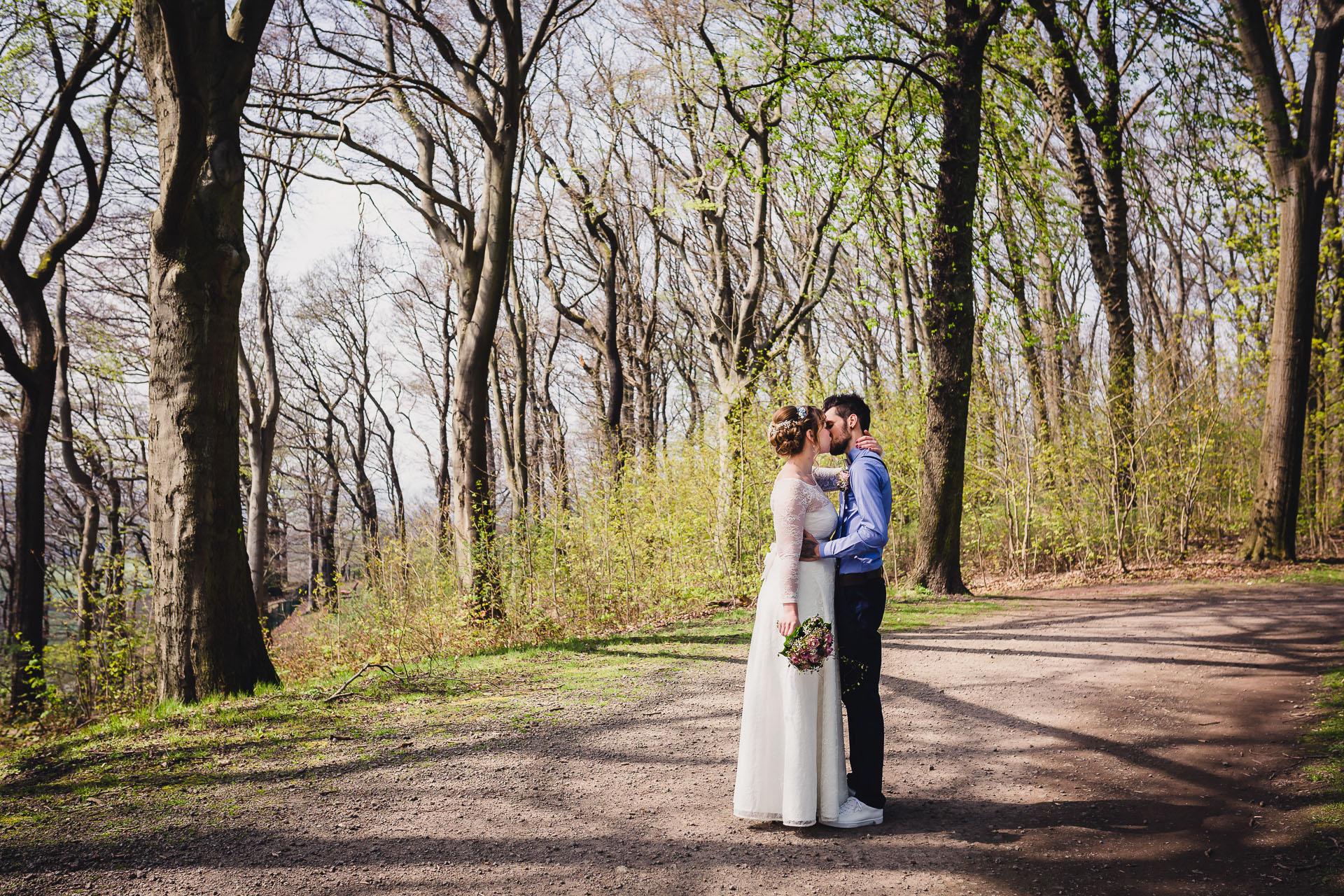 Standesamtliche Hochzeit im Haus Hohenstein in Witten