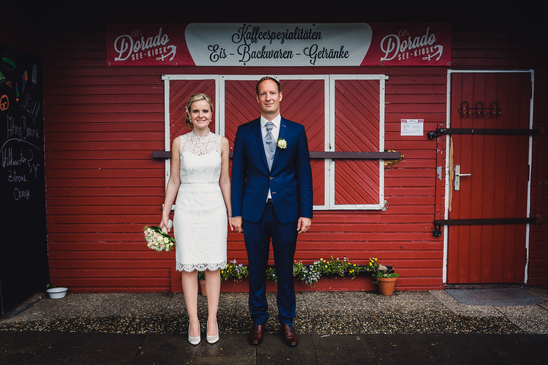 Hochzeitsfotos am Kemnader See in Hattingen