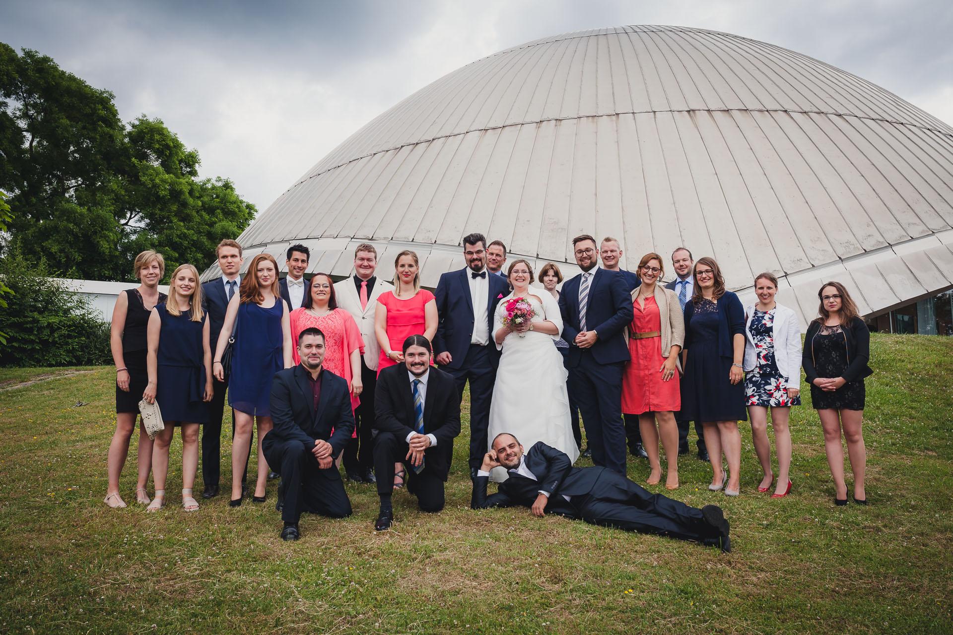 Hochzeitsfotograf Bochum - Hochzeit im Planetarium