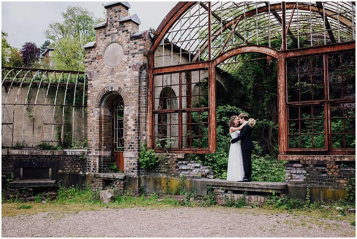 Hochzeitsfotos an der Villa Au in Velbert