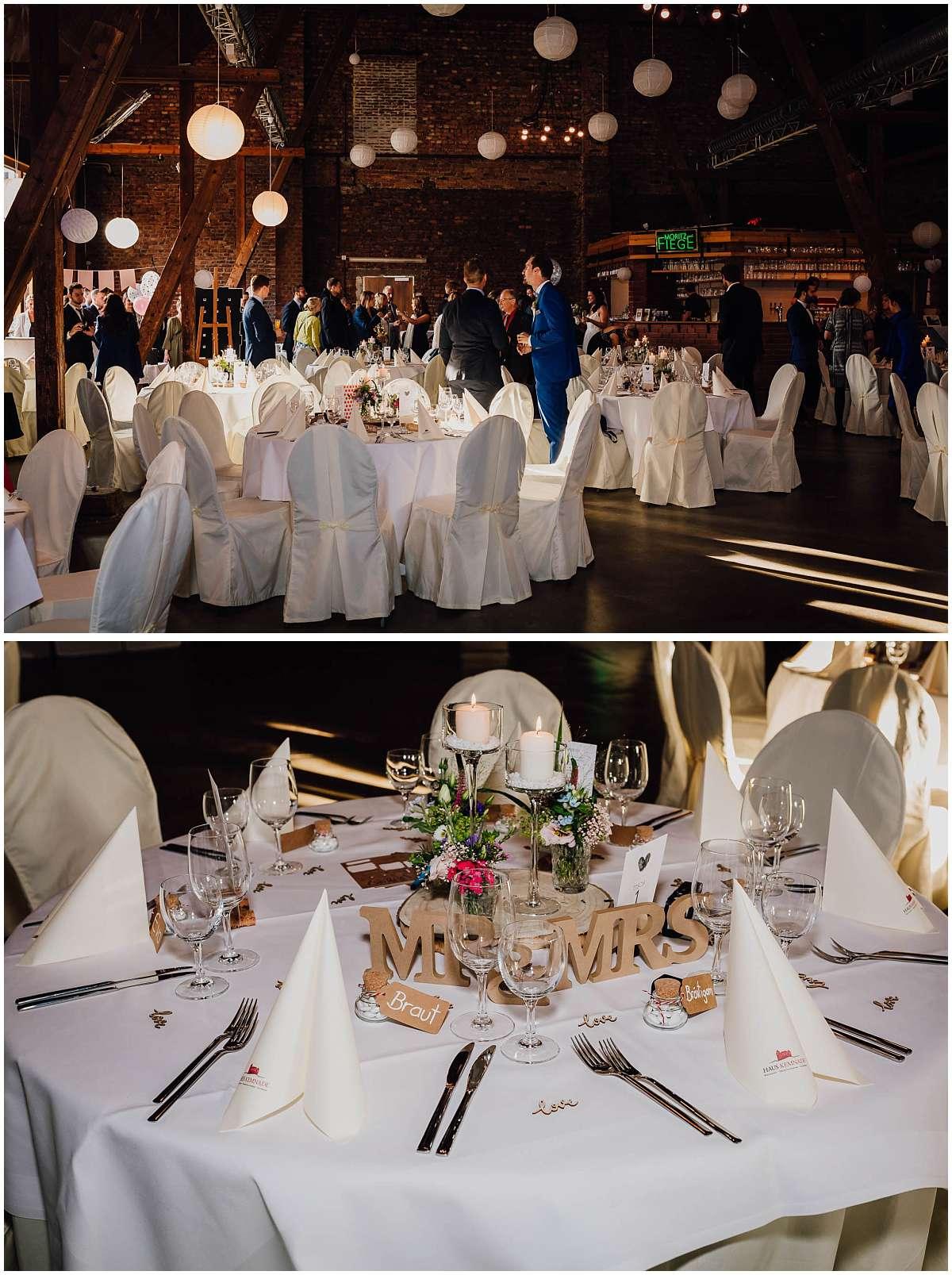 Hochzeitsfeier im Haus Kemnade in Hattingen