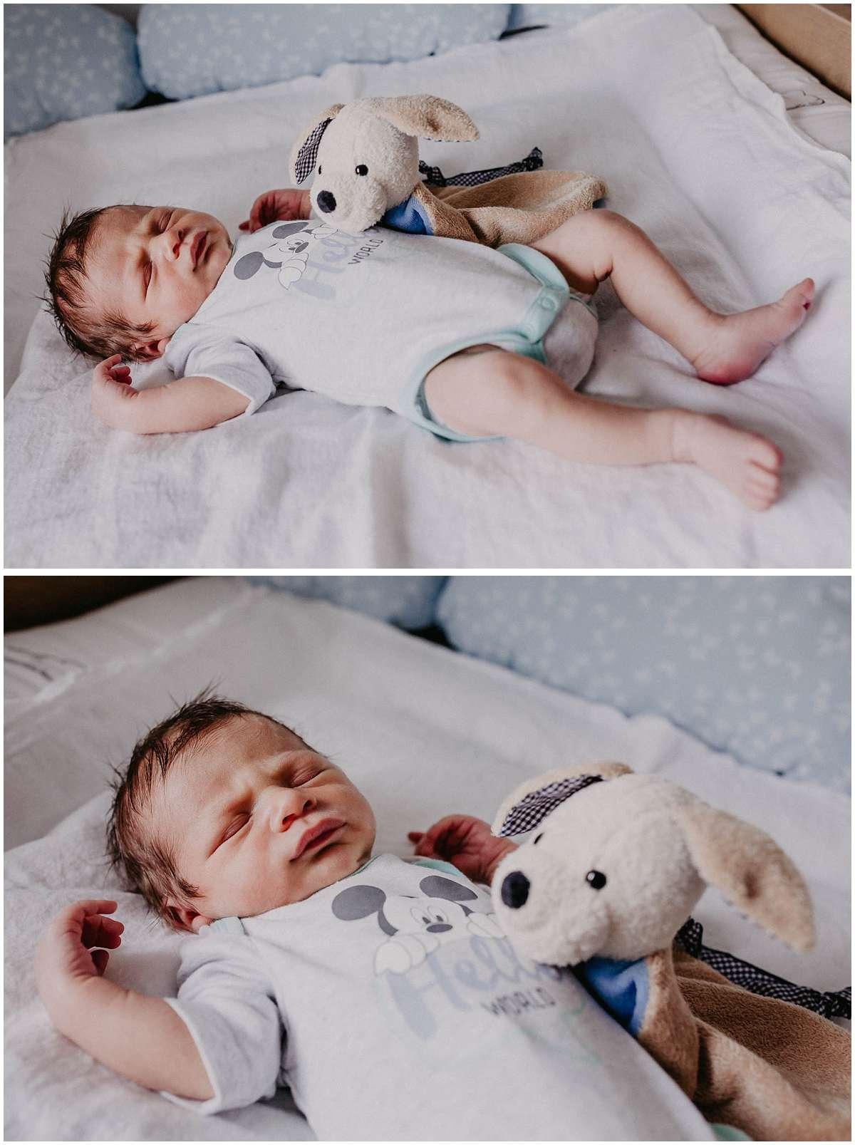 Neugeborenenreportage als Homestory in Bochum