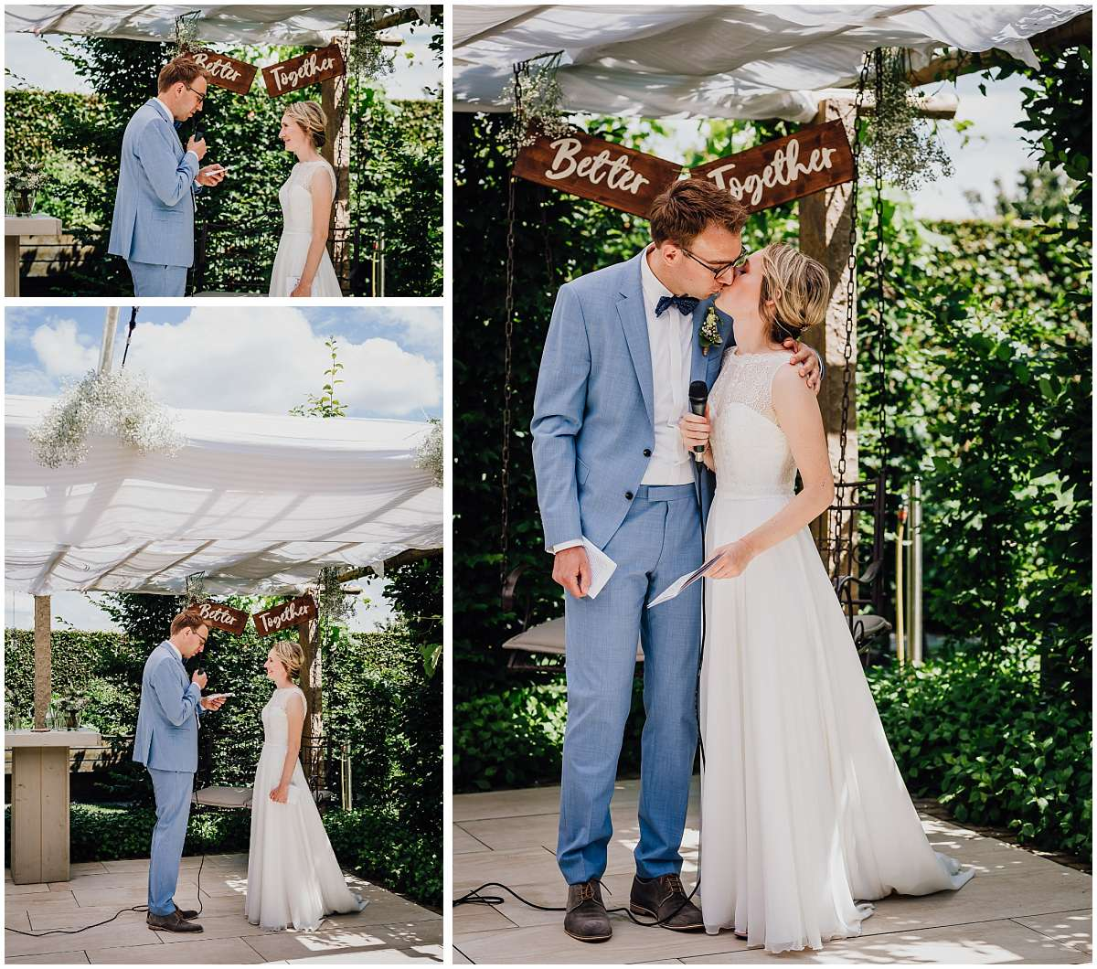 DIY Gartenhochzeit mit freier Trauung im Münsterland - Hochzeit feiern in Zeiten von Corona