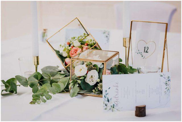 Hochzeitsfotograf Bochum freie Trauung Kemnader See Hochzeitsfeier Deko Tischdeko