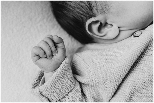 Neugeborenenreportage Newbornshooting Baby Homestory Hattingen Ruhrgebiet