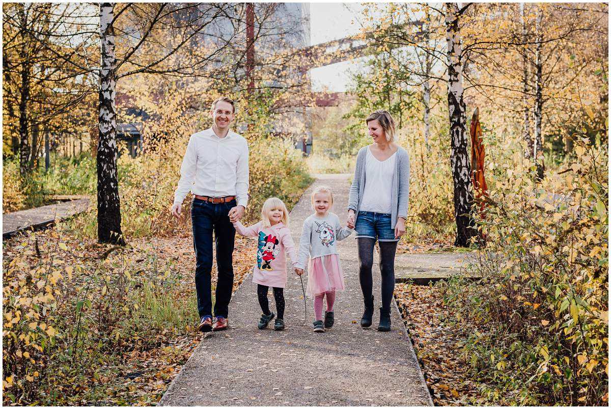 Familienfotos Ruhrgebiet Familienshooting auf Zeche Zollverein in Essen