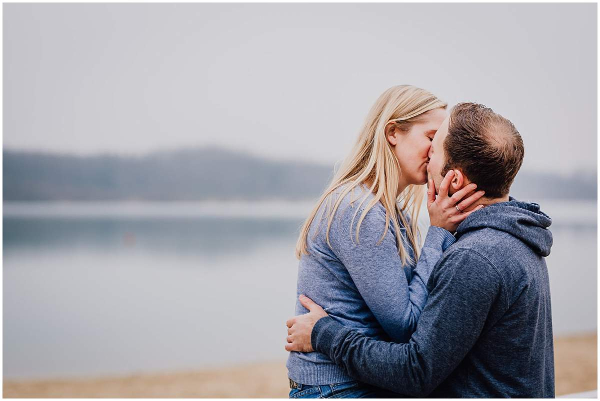 Paarshooting Verlobungsshooting Paarfotos Haltern am See Silbersee