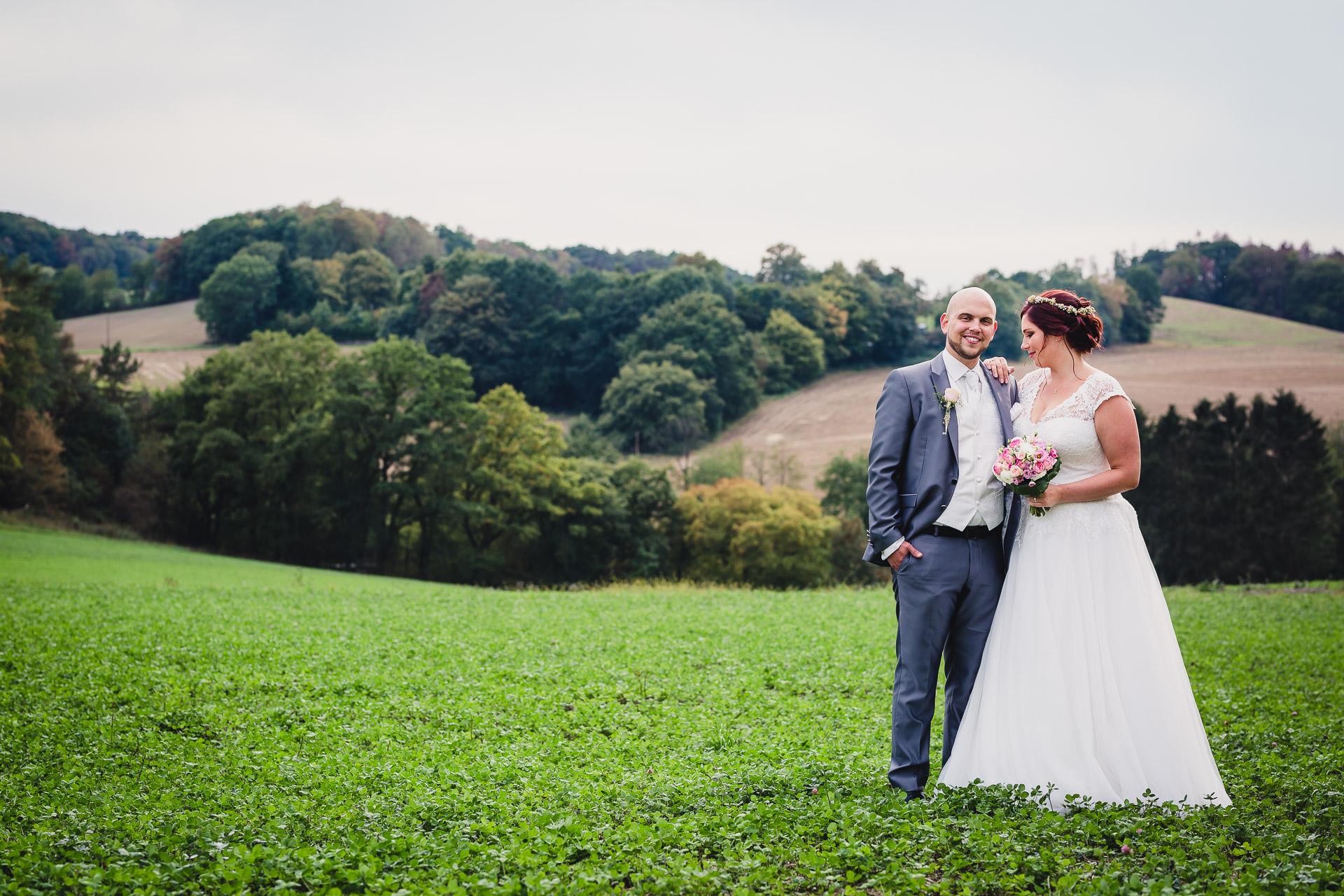 Hochzeitsfotos am Schloss Steinhausen in Witten