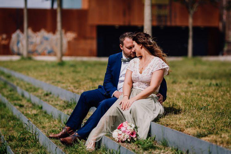 Hochzeit Standesamt Dortmund Altes Stadthaus Brautpaarfotos auf Phoenix West