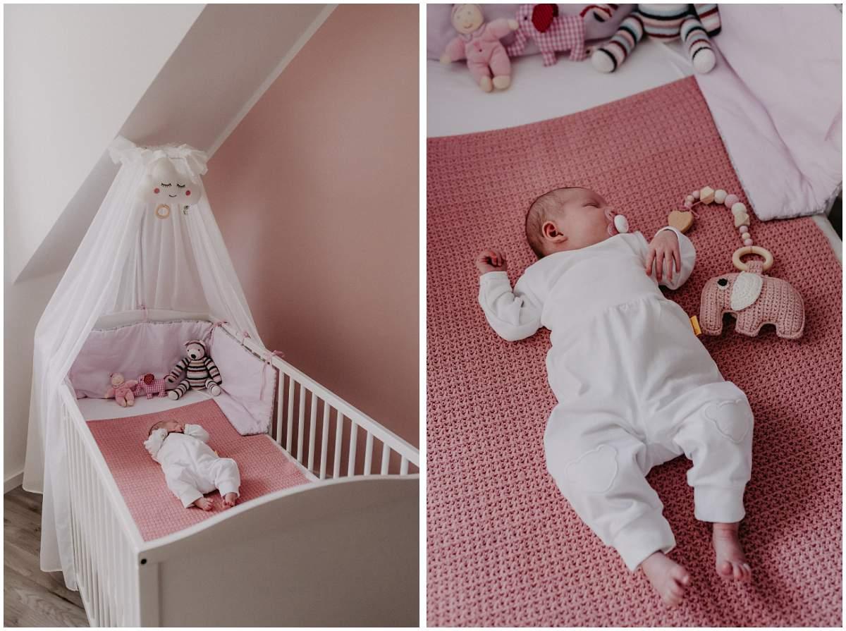 Baby-Homestory Neugeborenenfotos Neugeborenenreportage Hattingen Bochum Ruhrgebiet
